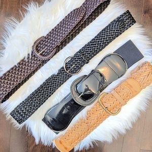 Accessories - Lot of 4 belts